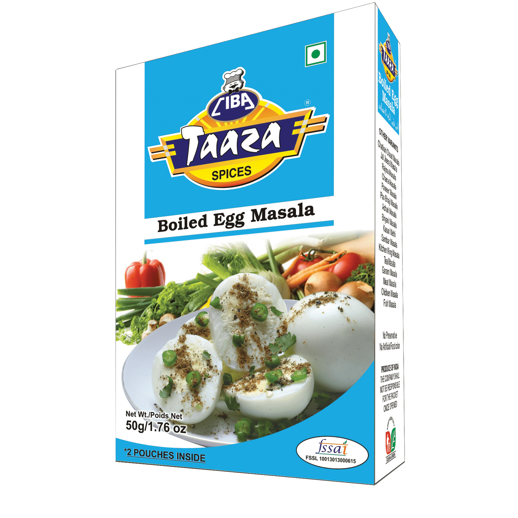 boiled egg masala powder 50gm