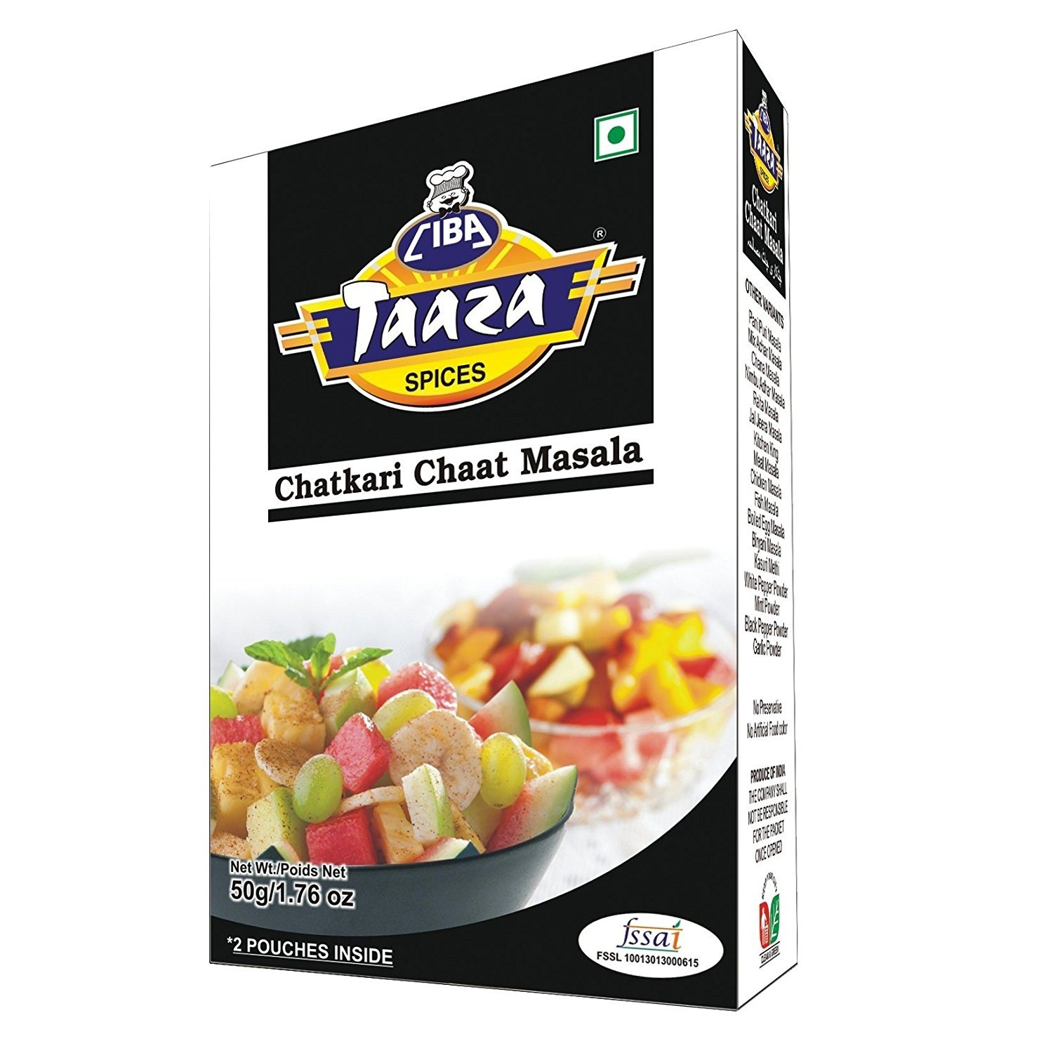 chaat masala powder 100g