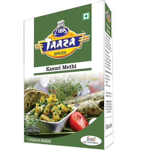 Kasuri Methi (Dried Fenugreek Leaves), 25g