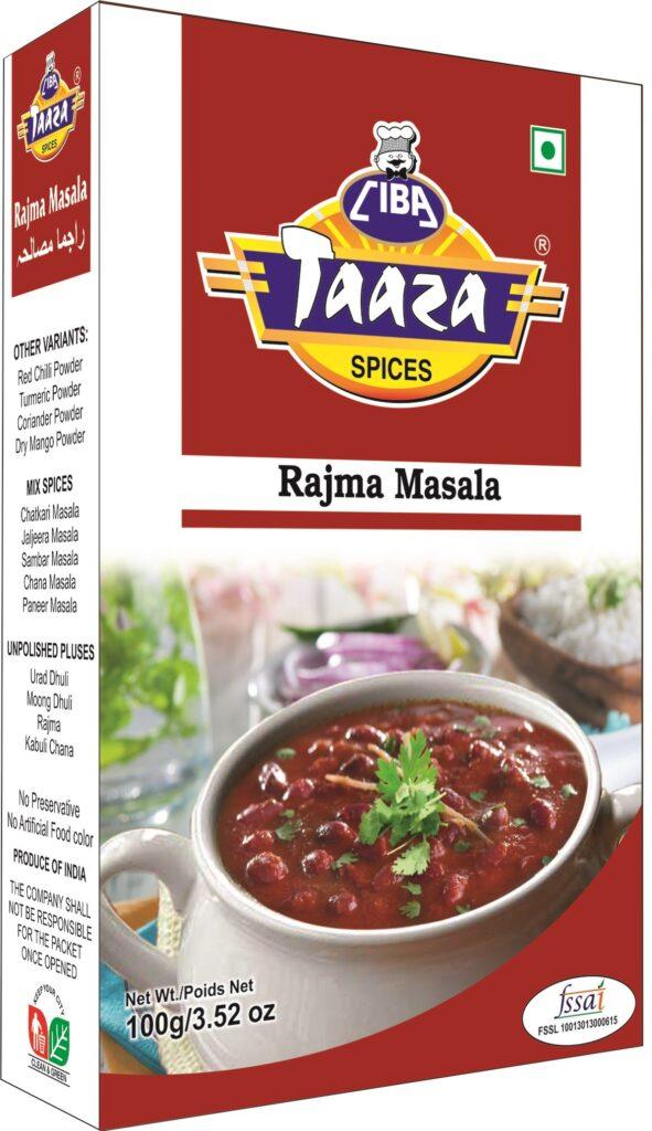 Best Rajma Masala Powder, 100gm - Ciba Taaza Spices