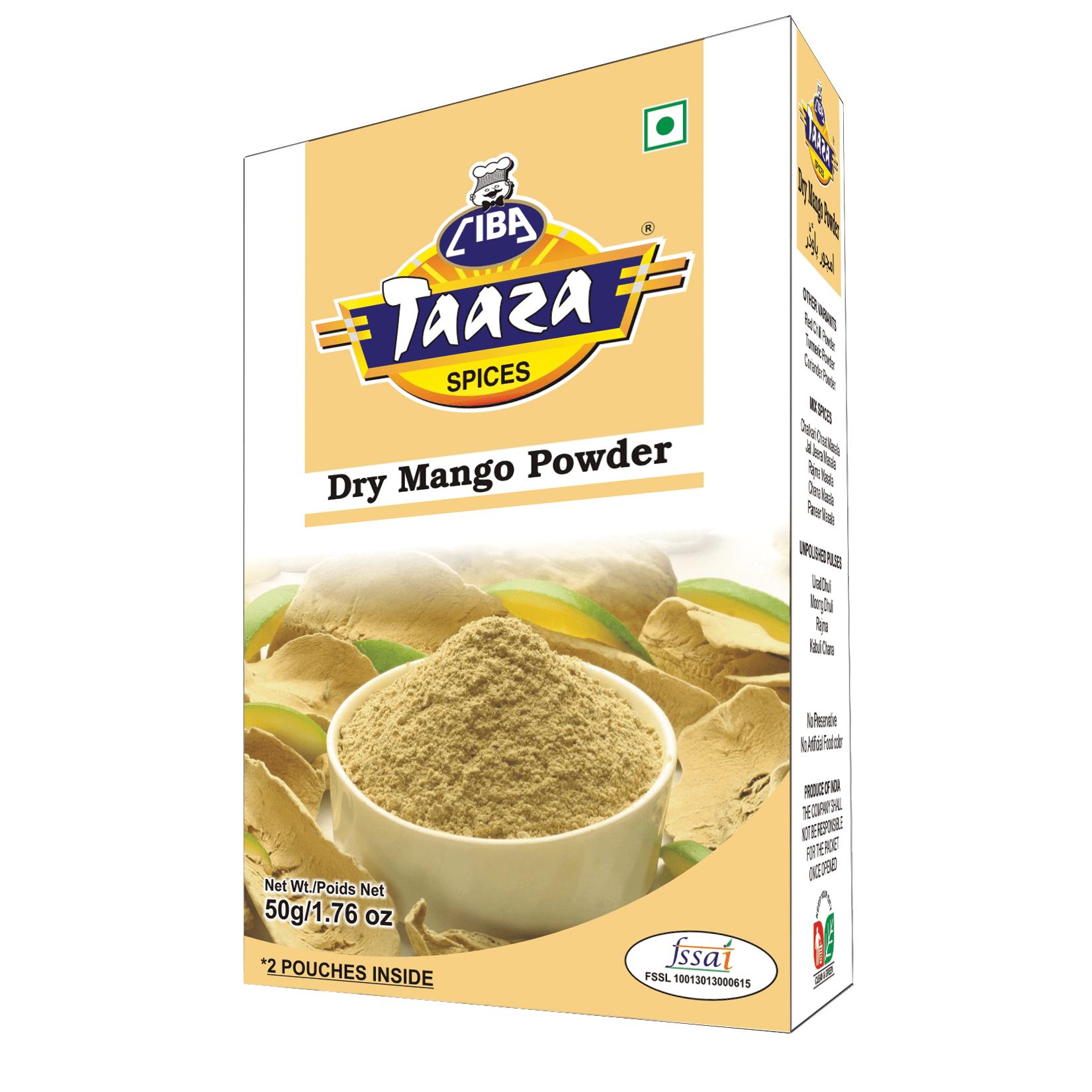 Amchur Powder (Dry Mango Powder), 50g - Ciba Taaza Spices
