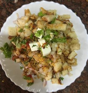 Yummy and Spicy BREAD CHAAT in 5 minutes – By PRITI TAYAL