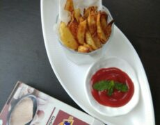 Garlicky Potato Fries By Ruchika Vineet Sapra