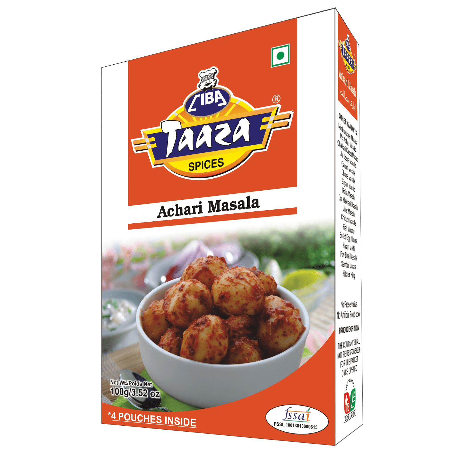 Achari Masala Powder, 100g