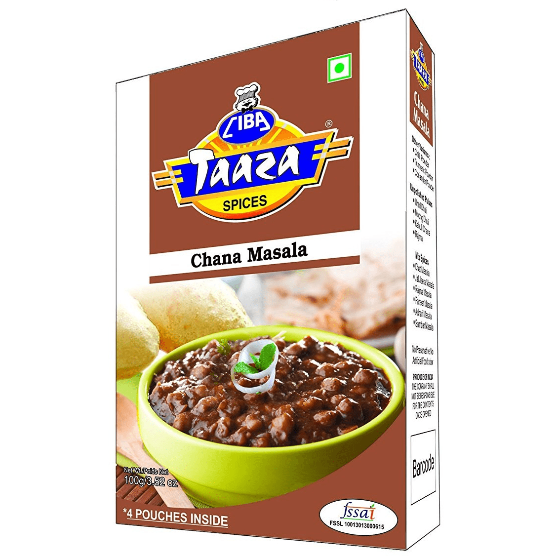 Chana Masala Powder (Chole Masala Powder), 50g
