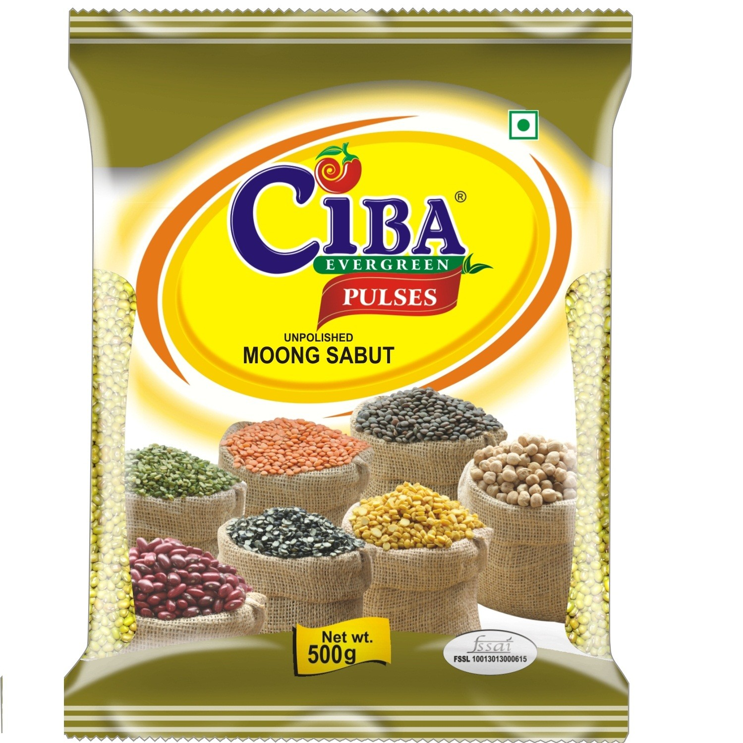 Moong Whole (Sabut) 500gm